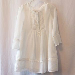 Monsoon Delicate White Dress *Size 6*